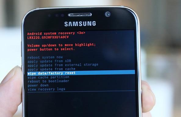 Factory Reset Smart Phone
